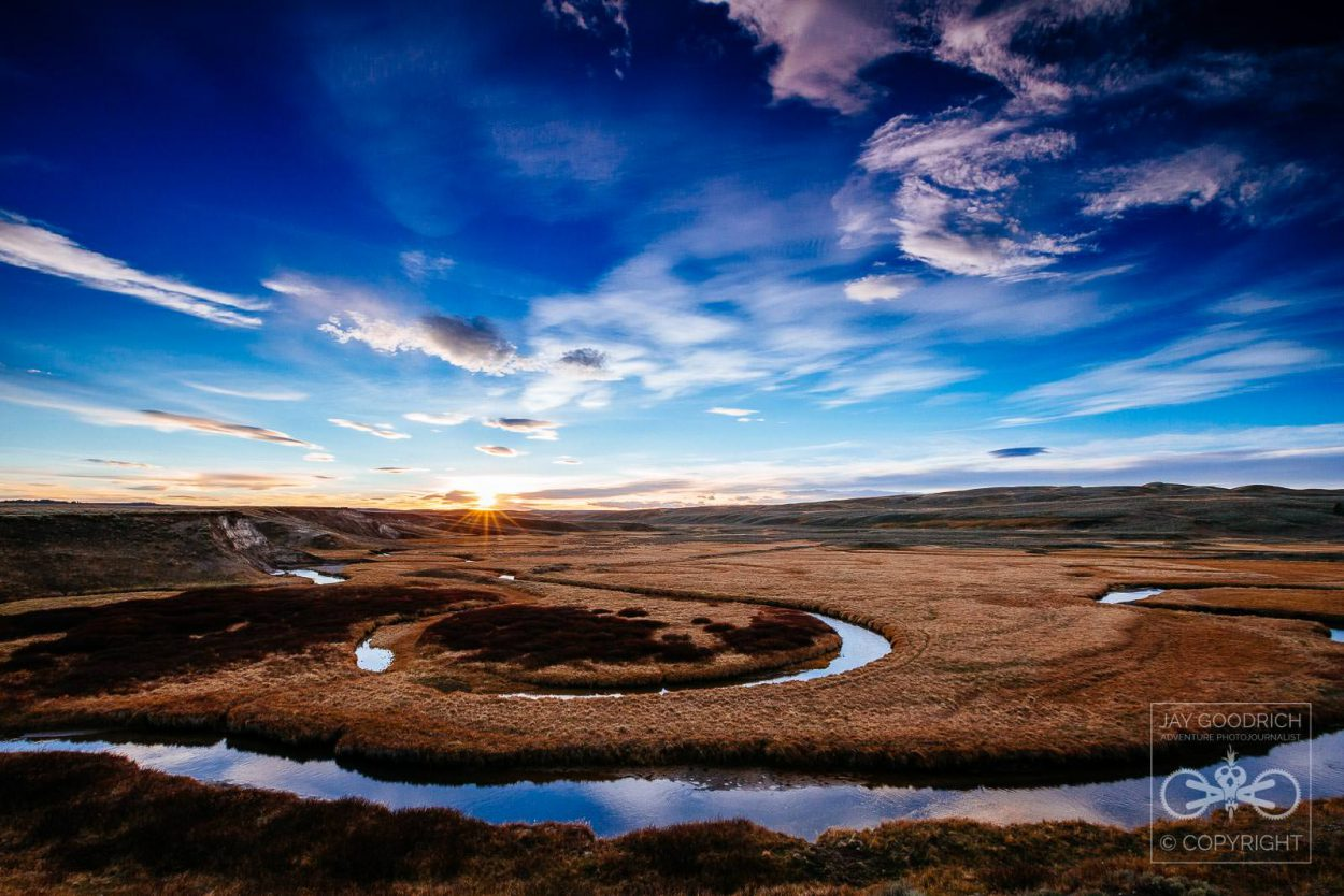 Creativity in Photography Hayden Sunset Wyoming by Jay Goodrich