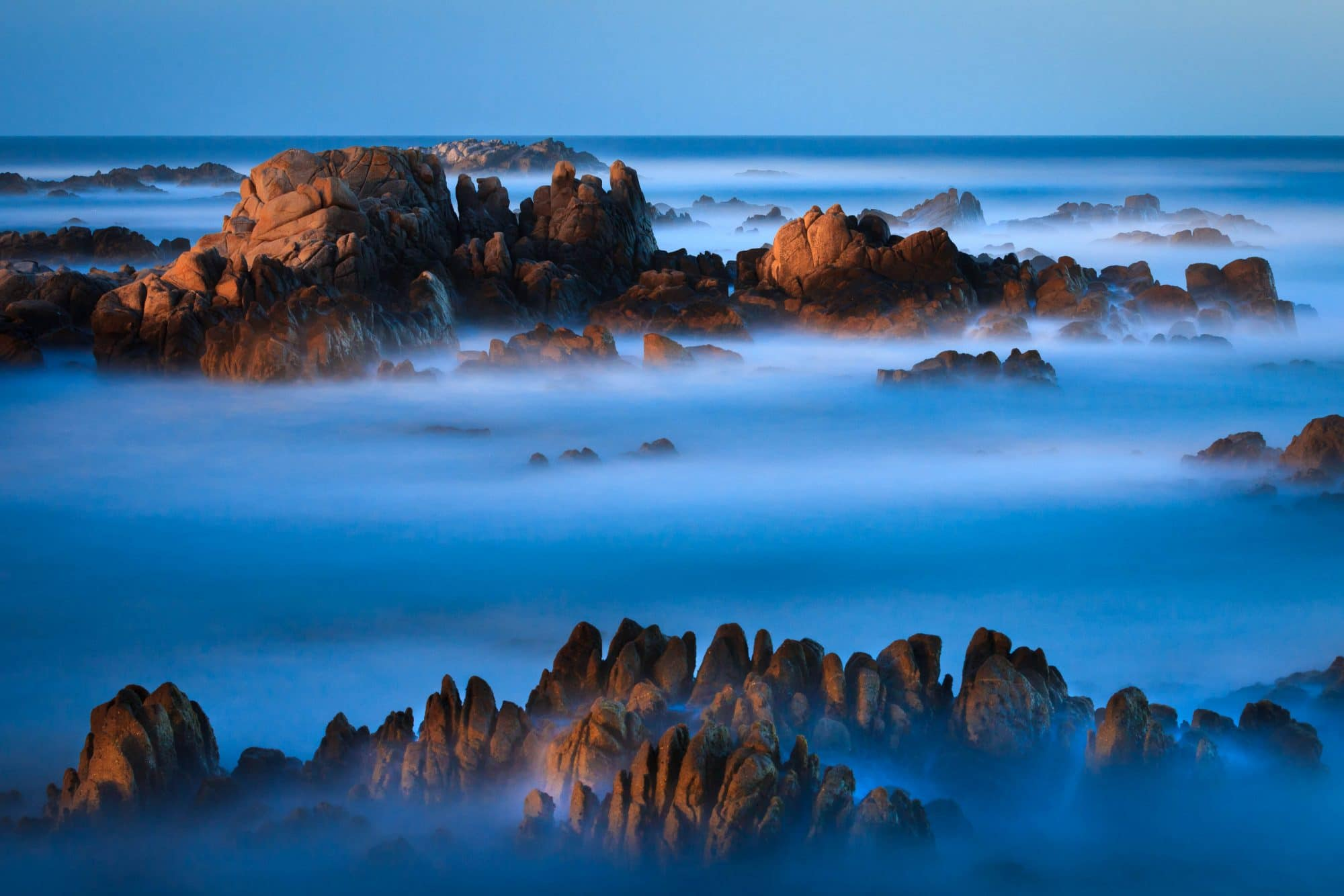 Big Sur moonrise - © Jay Goodrich