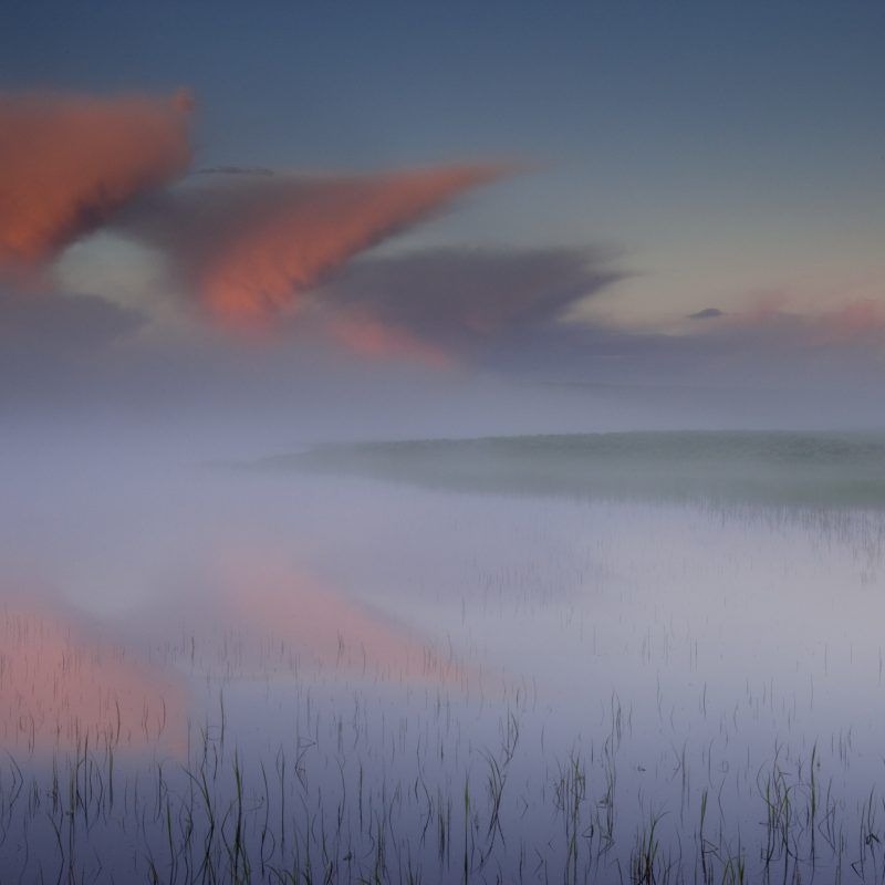 Yellowstone Fog Sunrise limited-edition print by Jay Goodrich