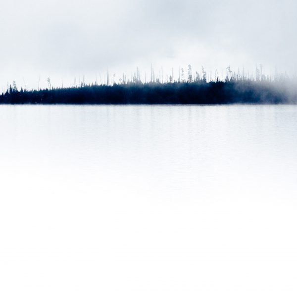 Yellowstone Lake Mist limited-edition print by Jay Goodrich