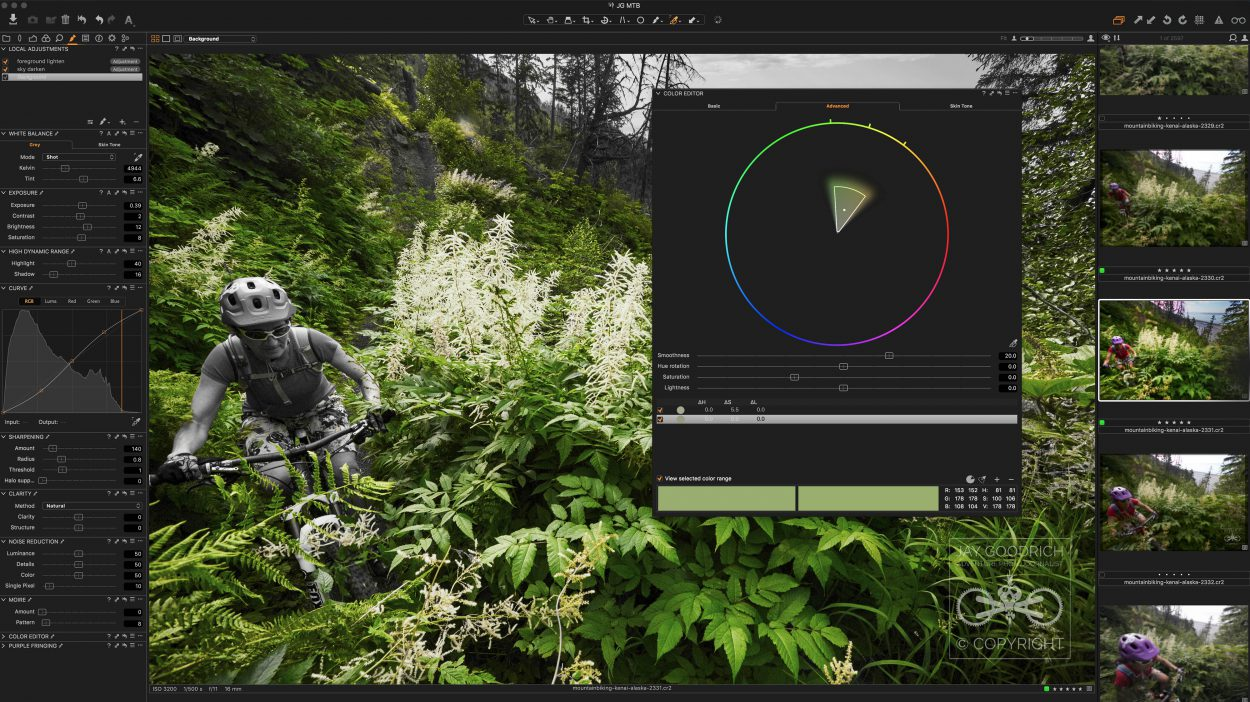 Capture One Pro Color Editor by Jay Goodrich