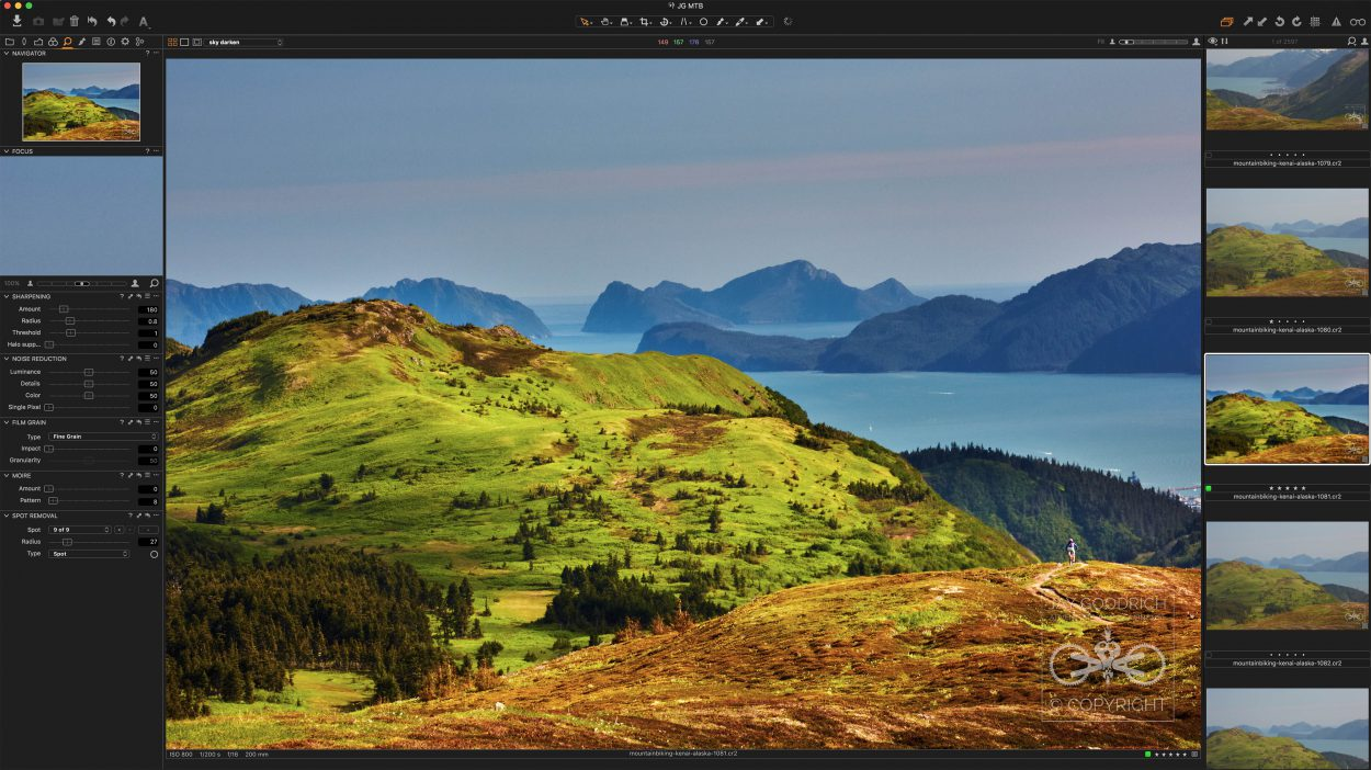 Capture One Pro Desktop by Jay Goodrich