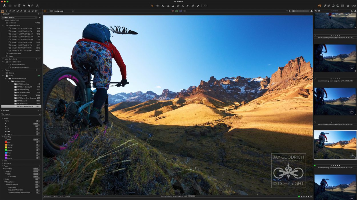Capture One Pro Interface by Jay Goodrich