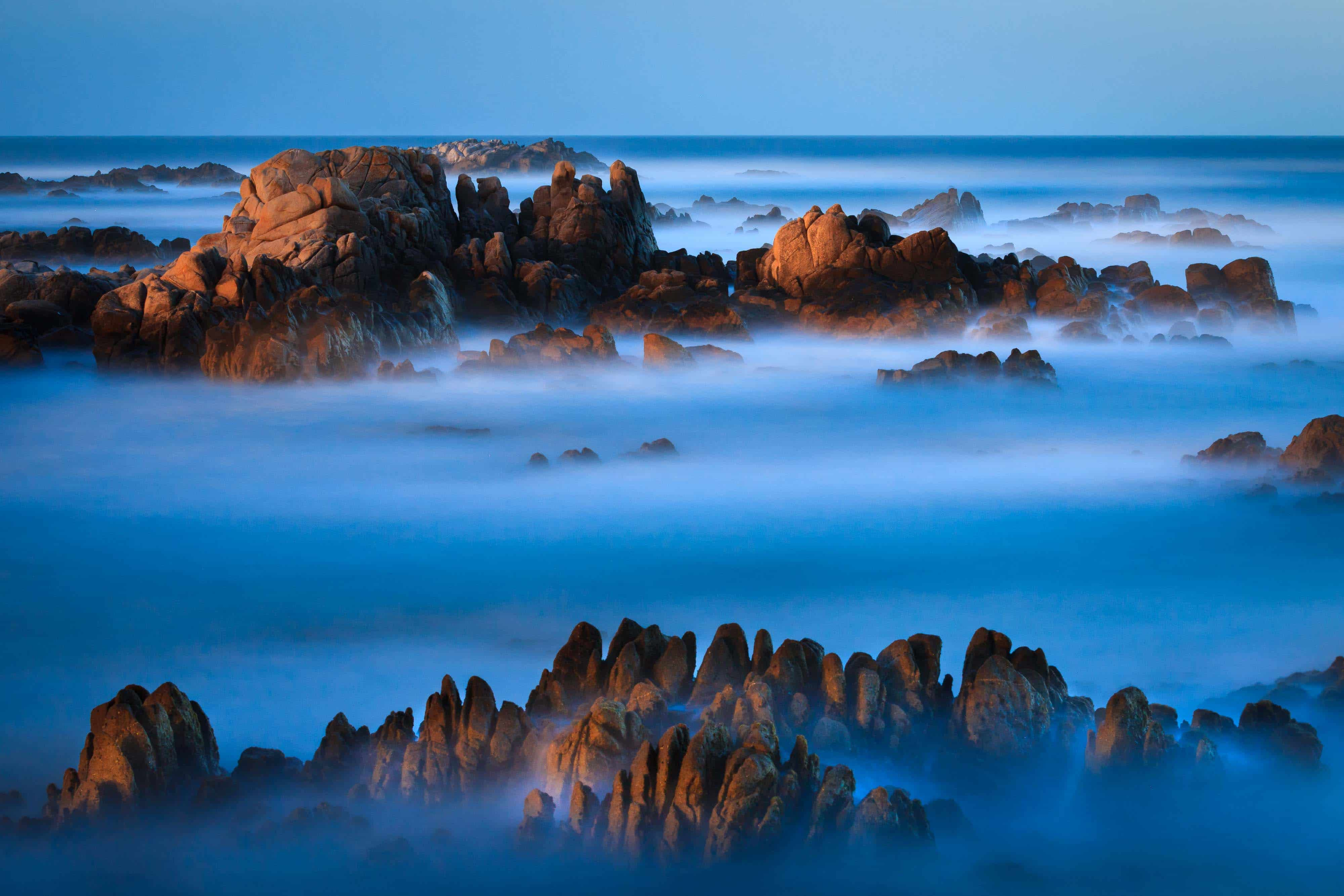 limited edition prints - Moonlight over Big Sur California by Jay Goodrich