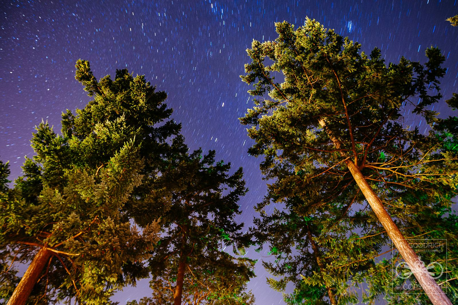 Star Trail Time-lapse by Jay Goodrich