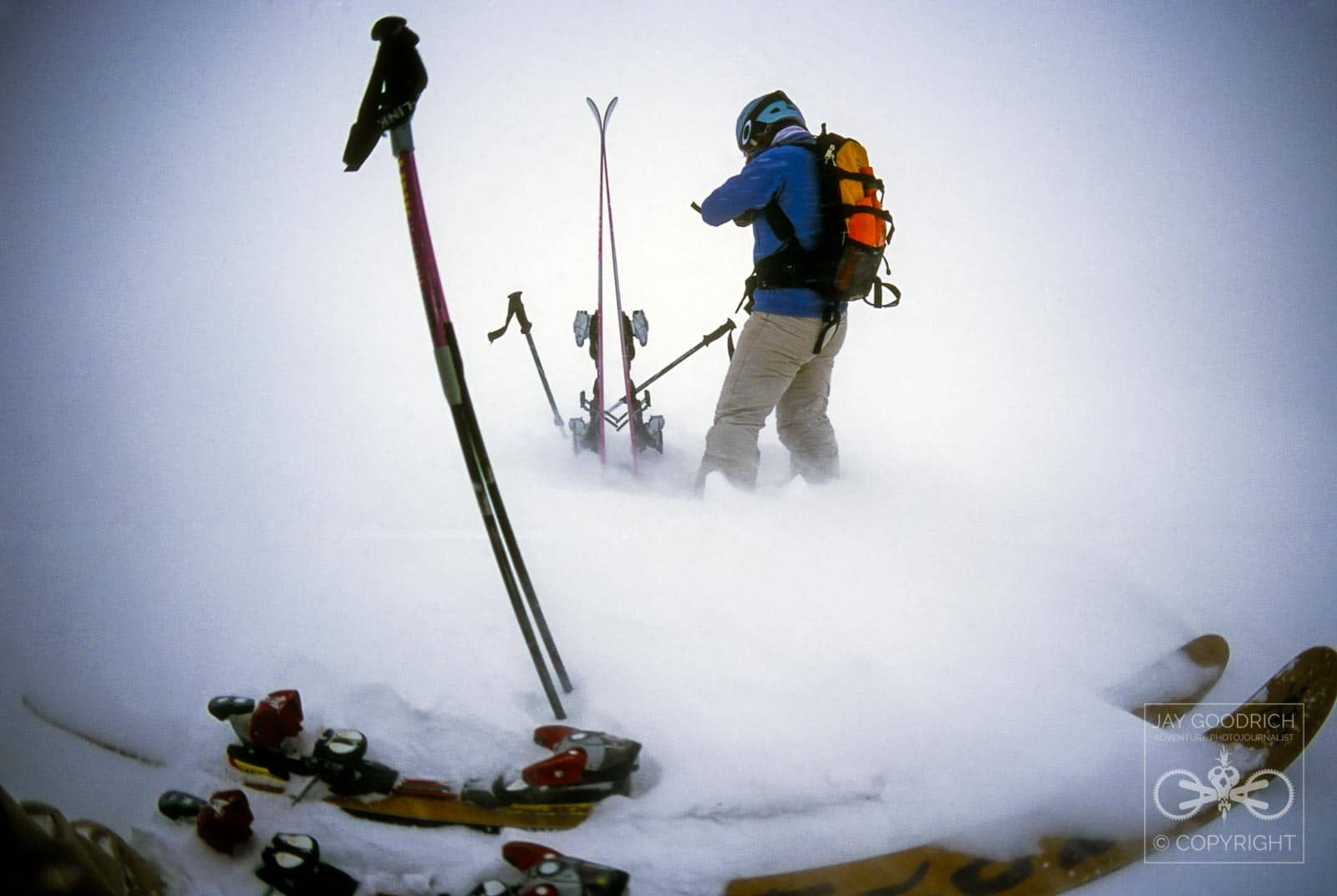 Concepts for Photographers - Skiing Photo on Velvia by Jay Goodrich
