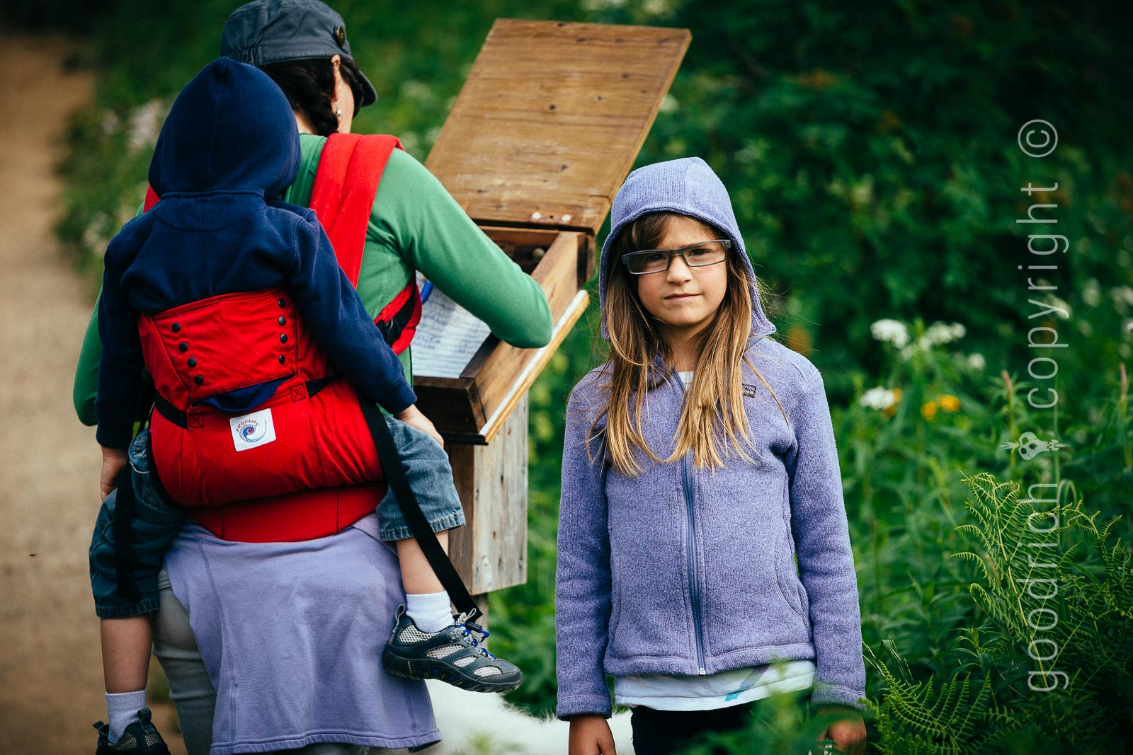 Friends and Family Photography - Family Hike by Jay Goodrich