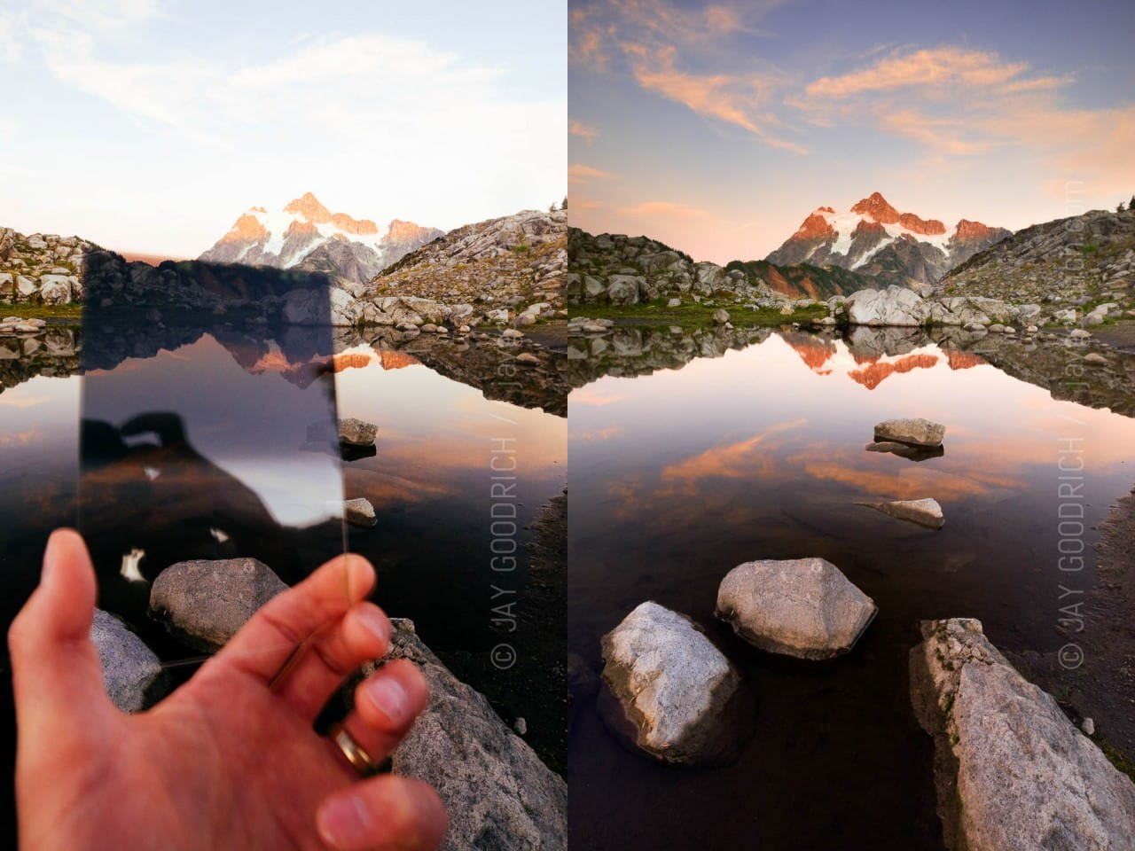 photographic filters - graduated neutral density usage by jay goodrich