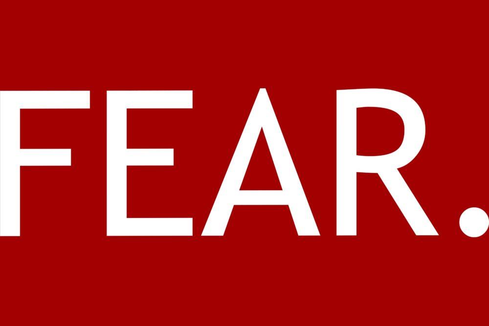 Fear Logo by Jay Goodrich