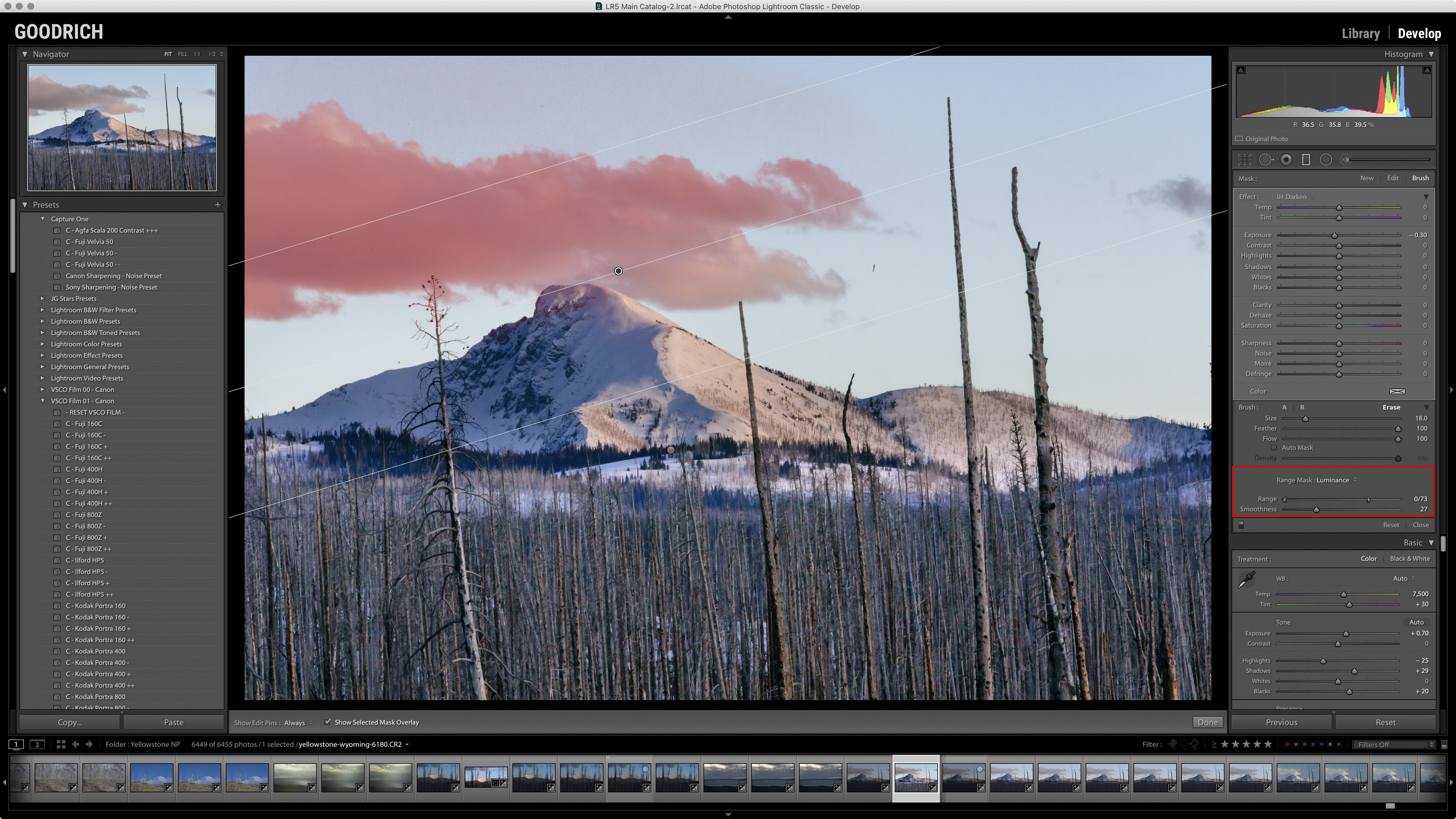 lightroom classic cc screen shot photo by Jay Goodrich