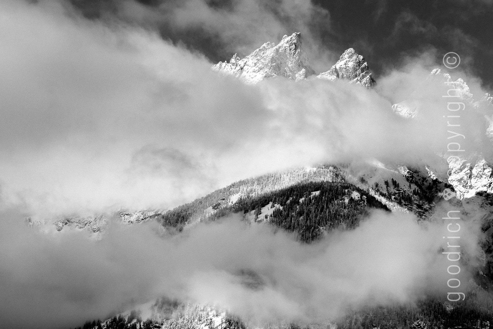 lightroom classic cc - Grand Teton with New Snow by Jay Goodrich