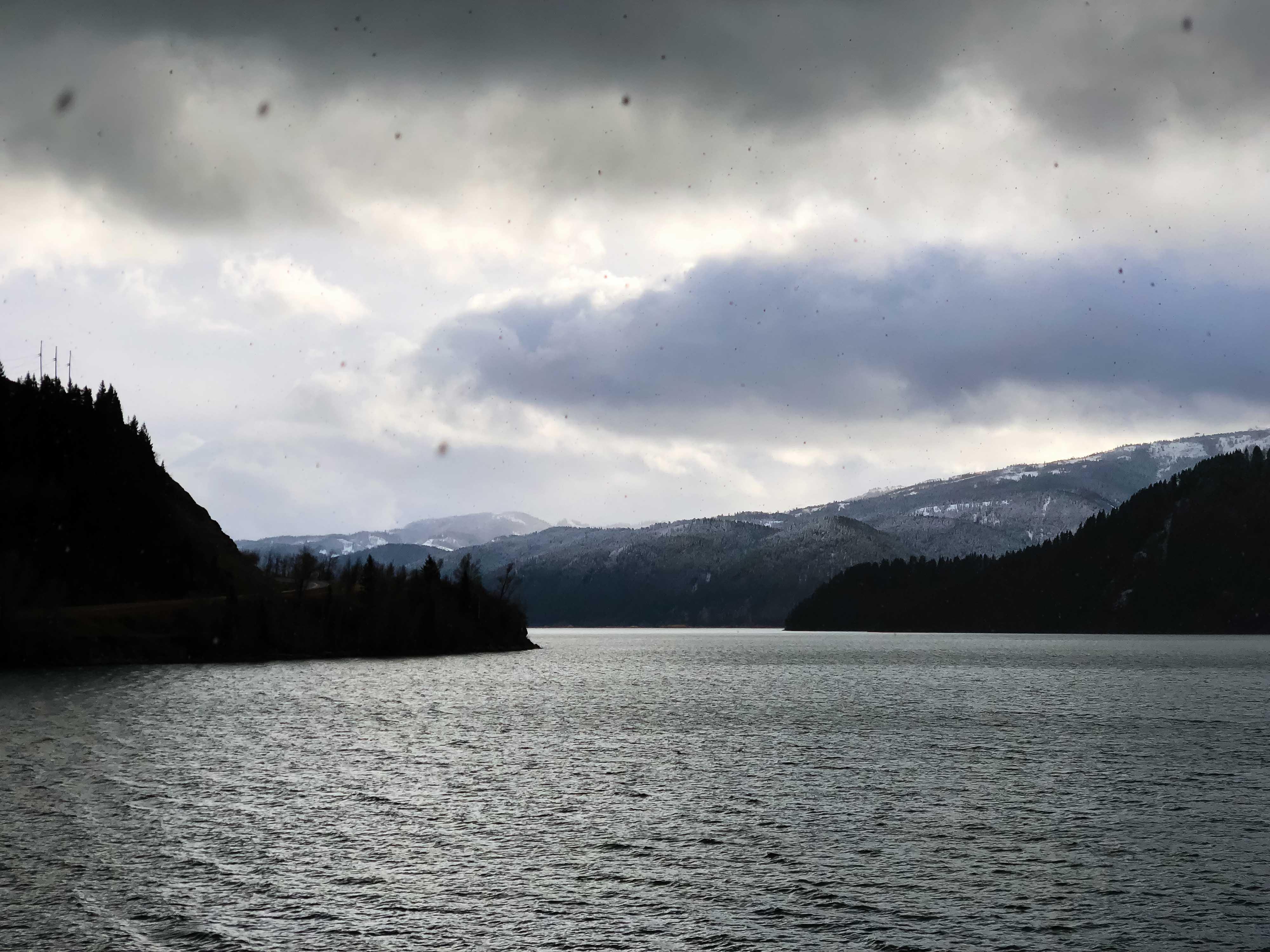 iPhone X Digital Zoom - Palisade Reservoir © Jay Goodrich