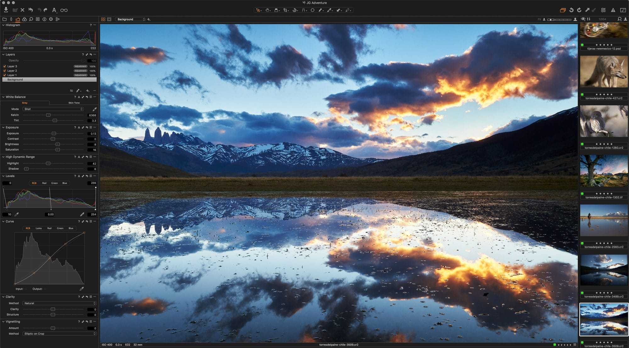 Capture One Pro 11 Desktop © Jay Goodrich