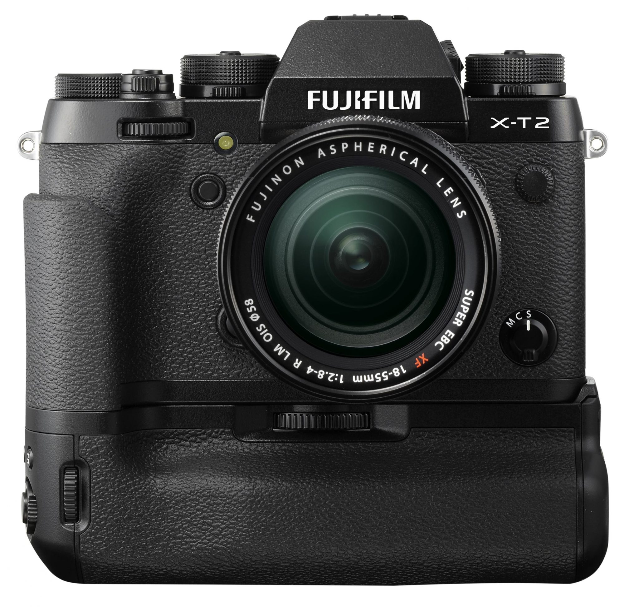 FUJIFILM X-T2 with booster