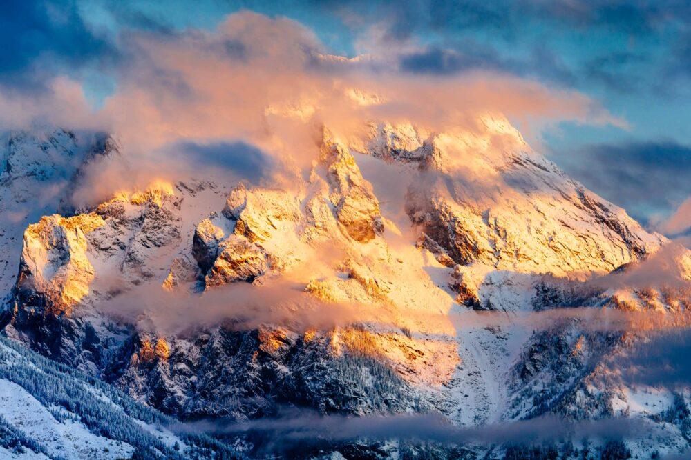 Snow Photography Article - Grand Teton © Jay Goodrich