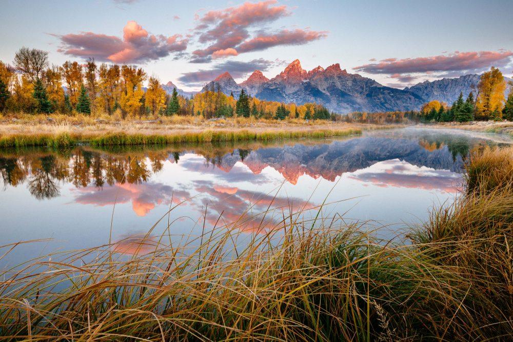 teton photography adventures - sunrise teton range © Jay Goodrich