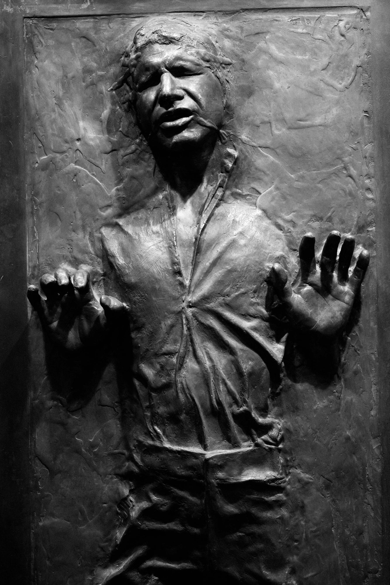 Leica M10 and Star Wars - Hans Solo in Carbonite - photo by Jay Goodrich