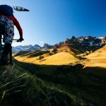 Jackson Hole Professional Outdoor Sports Photographer - Heather Goodrich Mountain Biking Patagonia by Jay Goodrich