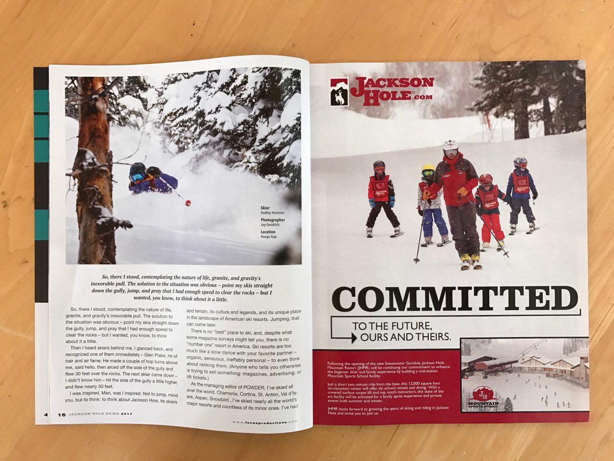 Jackson Hole Skier Magazine 2017