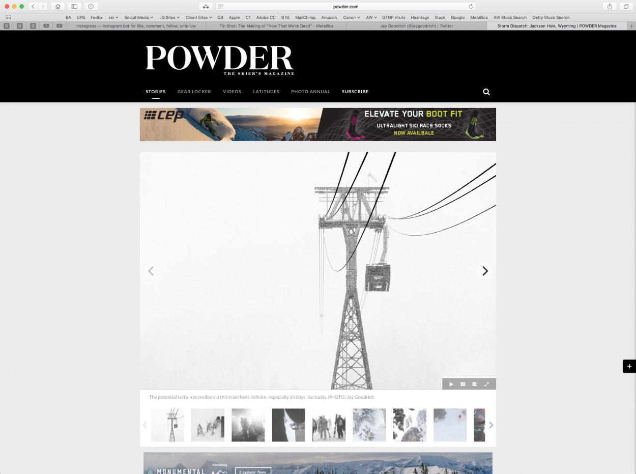 Storm Dispatch Three - Powder - Jay Goodrich