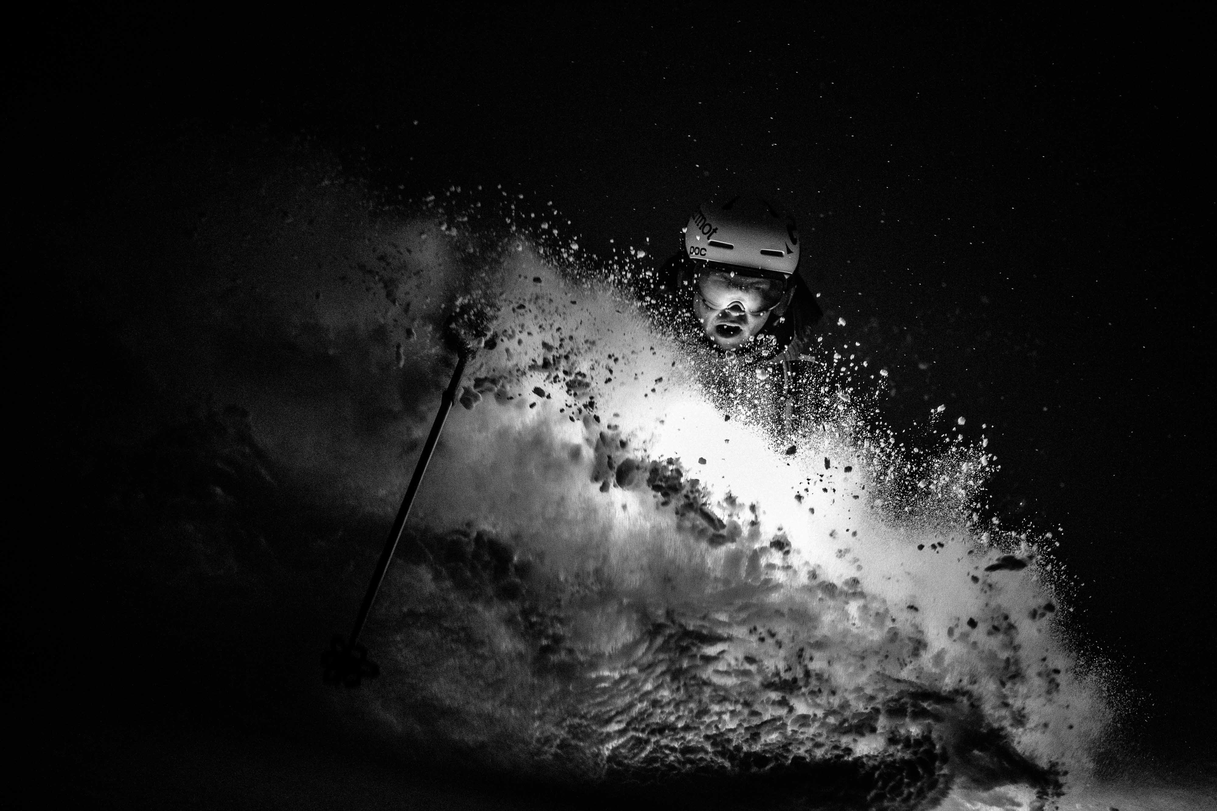 Night Skiing with Tanner Flanagan Large © Jay Goodrich